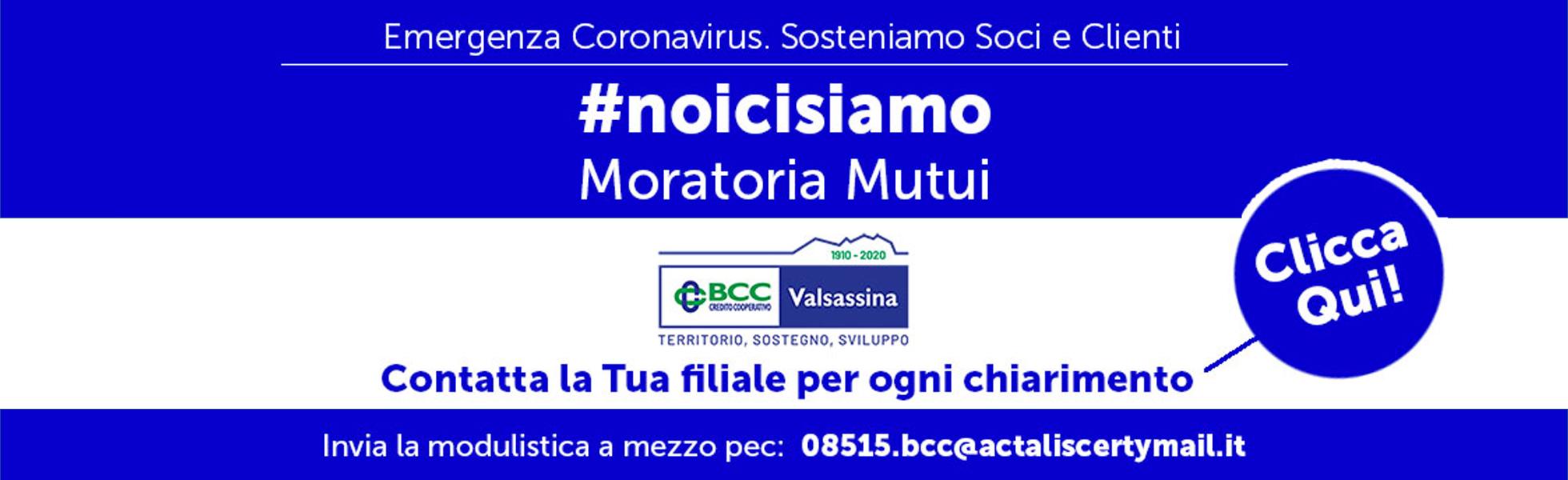 Banner Moratoria Mutui mobile
