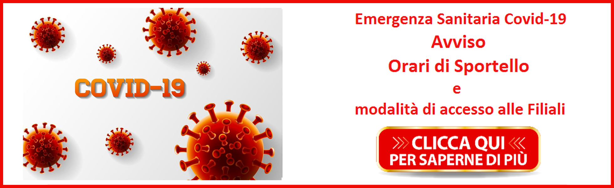 Banner Orari sportello mobile